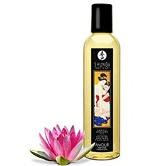 Масажне масло Shunga Erotic Massage Oil з ароматом солодкого лотоса 250 мл